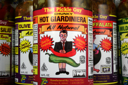 "That Pickle Guy Chicago Style Giardiniera Traditional ""Chunky"" Cut Chicago Style Giardiniera ""Minced"" Cut"